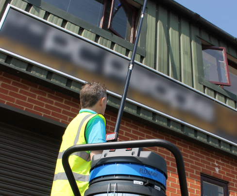 commercial gutter cleaning slough