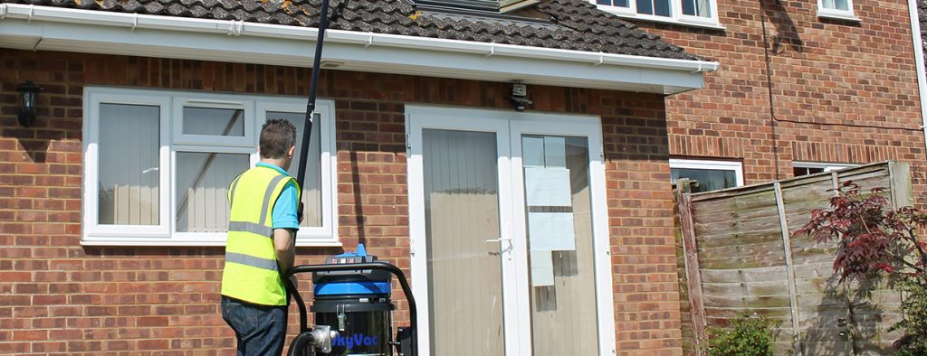 residential gutter cleaning slough